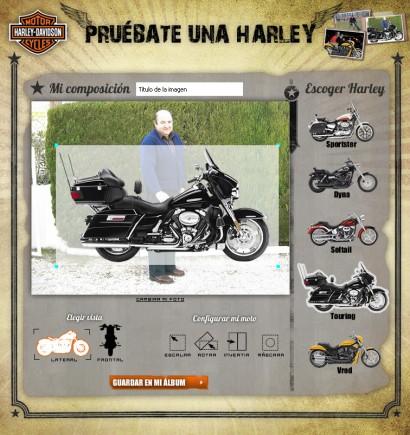 PRUÉBATE UNA HARLEY